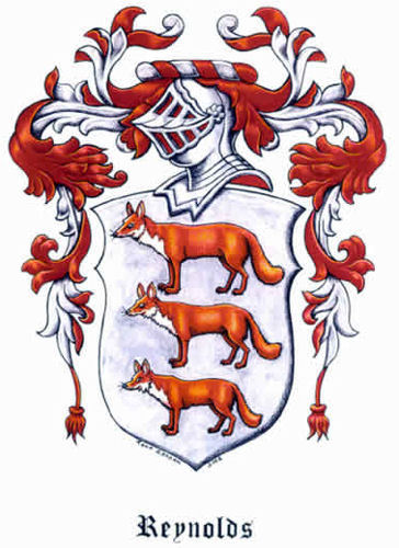 Reynolds Family Coat Of Arms